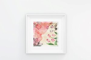 Bright Tulip - Digital Prints