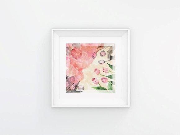 Bright Tulip Digital Prints