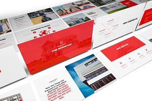 Real Estate Google Slides Template