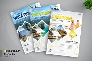 Travel & Vacation Flyer