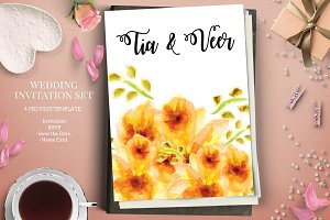 Save The Date Invite Card Templates