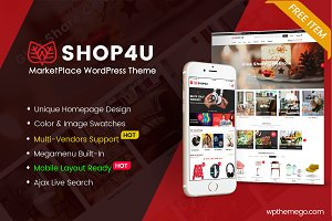 Shop4U - FREE MarketPlace WordPress