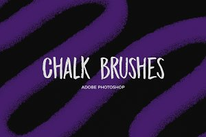 Chalk brushes-Photoshop