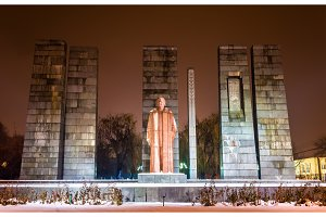 Monument for Alexander Myasnikyan in Yerevan