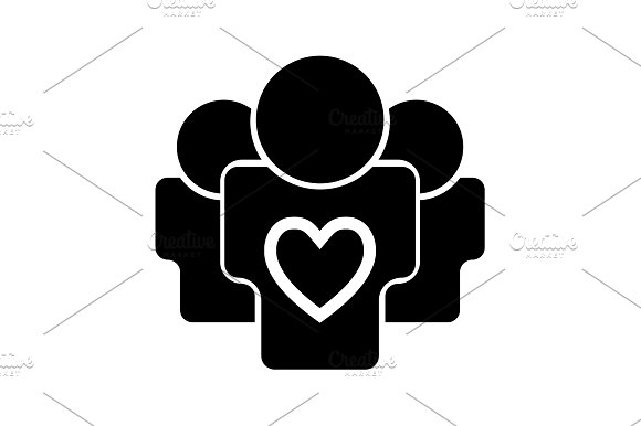 User Group Icon Vector Illustration