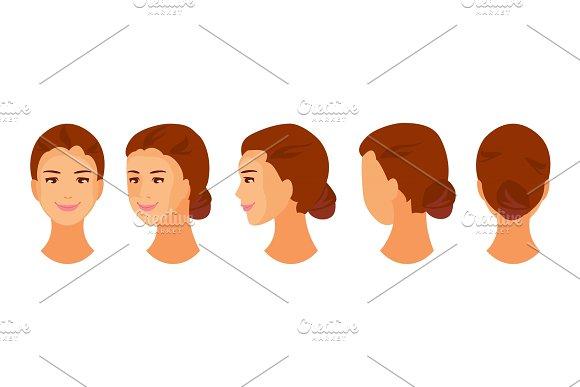 Woman Head Animation