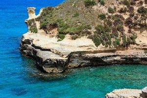 Salerno sea coast, Italy