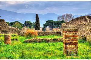 Ruins of ancient Pompeii