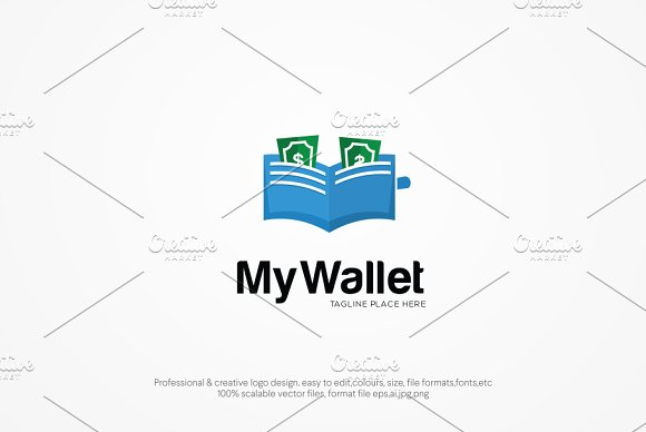 My Wallet Logo Template