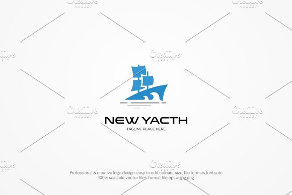 New Yacth Logo Template