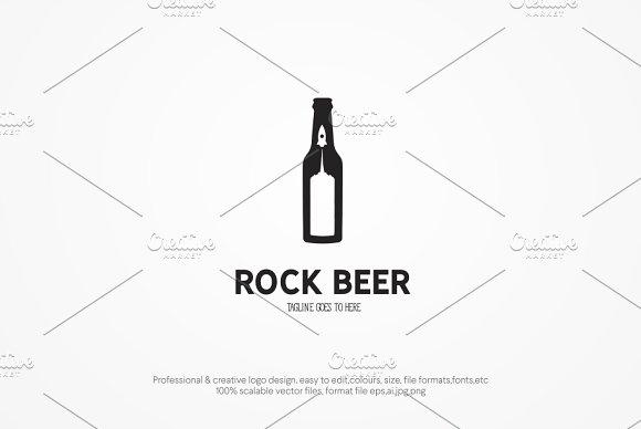 Rocket Beer Logo Template