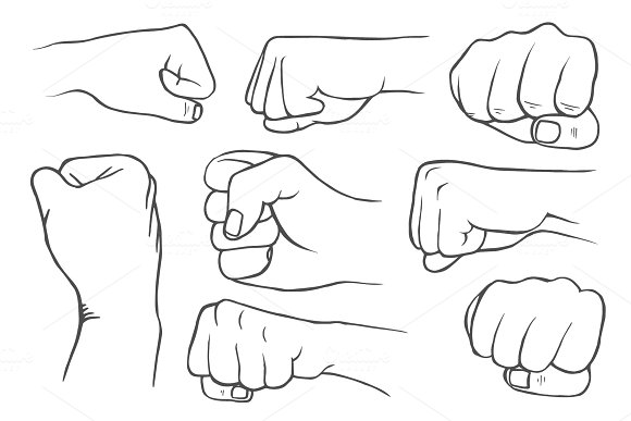 Set Of Fists