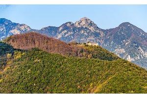 Lattari Mountains on Amalfi Coast