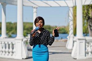 african american TV presenter