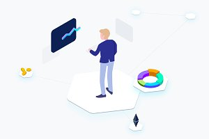 Isometric Business Cryptocurrency