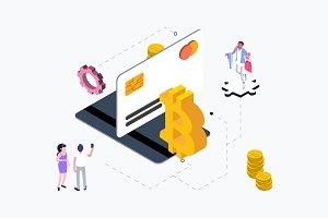 Isometric Payment Methods