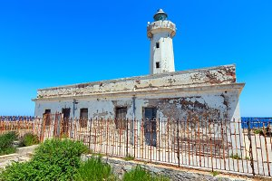 Capo Murro Porco lighthouse, Sicily