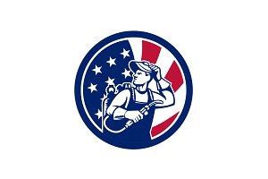 American Lit Operator USA Flag Icon
