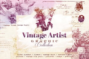 Vintage Artist Graphic Collection