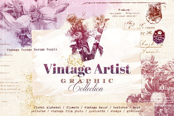 Objects: Vintage Voyage Design Co. - Vintage Artist Graphic Collection