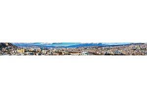 Panoramic view of Tbilisi, Georgia