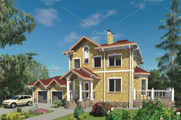 3D Visualization A Large House