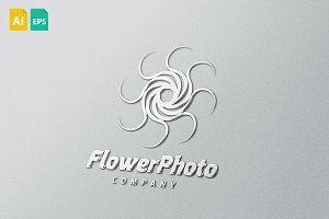 Flower Photo Logo