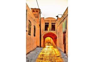 Old street in Yazd, Iran