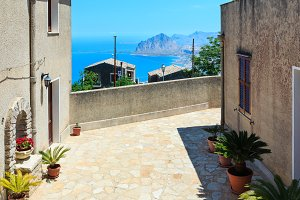 Summer Sicily view, Italy