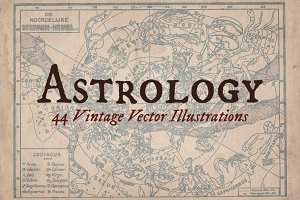 Vintage Astrology Illustrations
