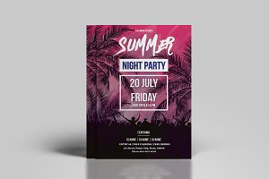Summer Party Flyer -V796