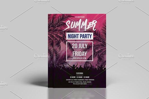 Summer Party Flyer V796