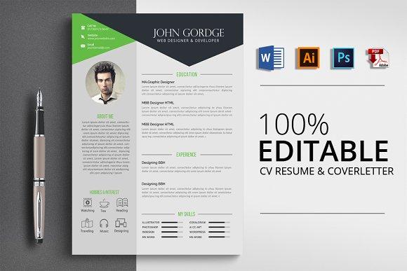 Microsoft Word CV Resume