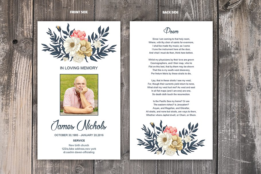 template for prayer cards.html