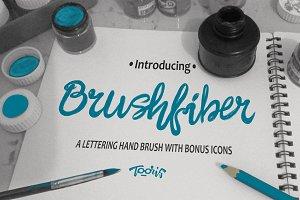 Brushfiber Typeface with Bonus