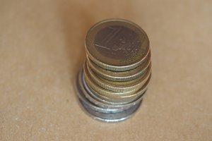 Euro coins, European Union