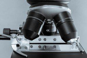 Light microscope detail