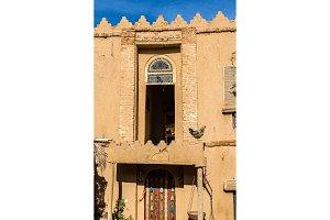 Facade of a rural house in Marvdasht, Iran