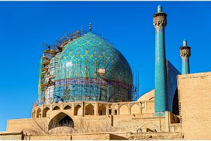 View of Shah (Imam) Mosque in Isfahan, Iran