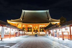 Sensoji a famous ancient temple in A