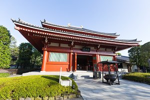 Heritage at Sensoji temple.