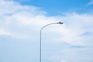 Daytime street lamp