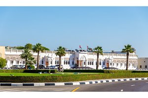The palace of Sheikh Hamdan bin Rashid Al Maktoum in Dubai