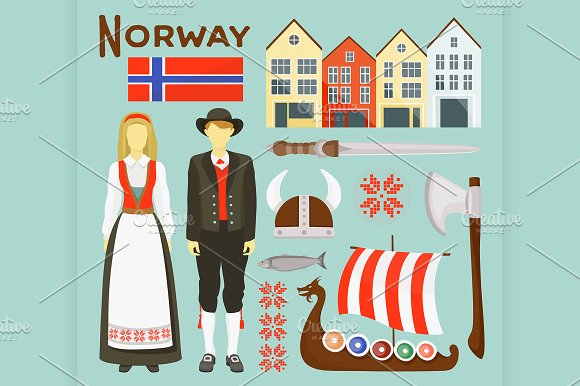 Norway Icon Set