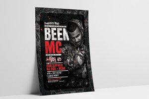 DJ Concert Flyer/Poster