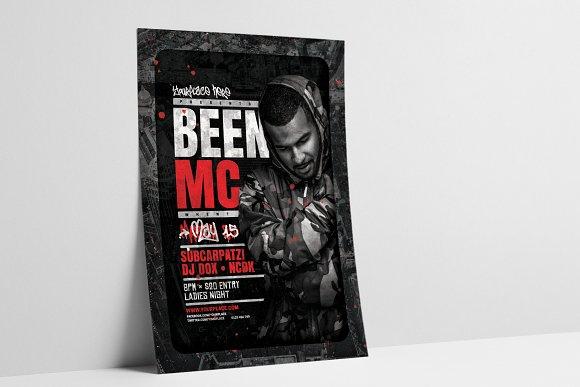 DJ Concert Flyer Poster