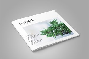 Square InDesign Magazine