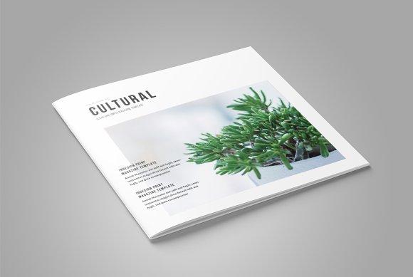 Square InDesign Magazine