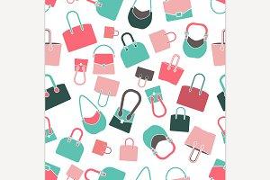 Handbag Seamless Pattern