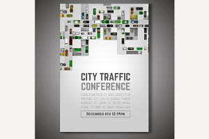City Traffic Poster